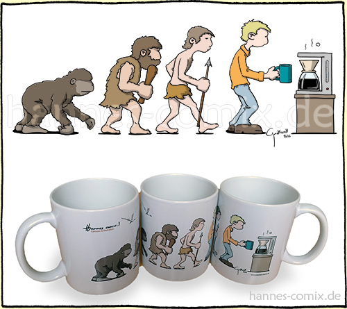 Evolution Kaffeetrinker